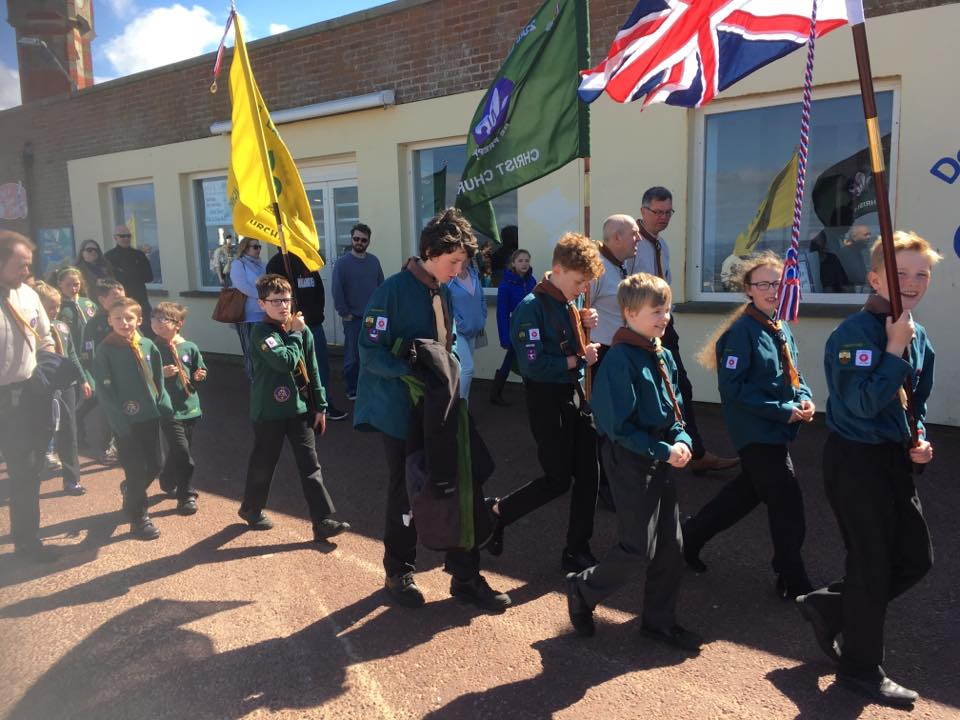 Our group at St George's Day parade